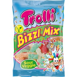 Мармелад Trolli Bizzl Mix Кислый Микс 200 гр