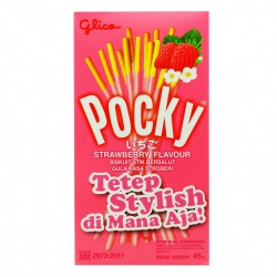 Pocky Stick Strawberry 45 гр