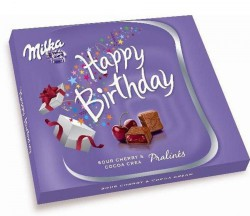 Конфеты Milka Happy Birthday 110 гр